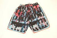 Nike board shorts mens size medium swim trunks blue orange