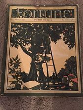 ( RARE 4TH ISSUE ) October 1930 Fortune