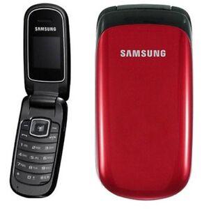 Samsung GT-E1190 Flip - Blue -Red - Grey Colours (Unlocked) Mobile Phone