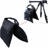 2in1 Stuff Sack Counter-balance Weight Sandbag for Flash Light Stand Boom Tripod