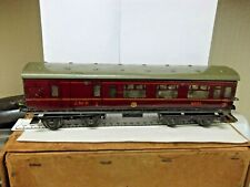 More details for prewar hornby o gauge l.m.s. coach in good condition