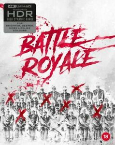 Battle Royale 4K Ultra HD + Blu-ray RB Limited edition New