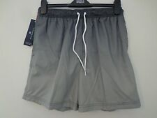 BNWT MENS M&S BLUE HARBOUR RANGE GREY MIX SWIMMING SHORTS SIZE LARGE