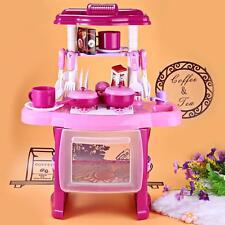 Kinderspielküche Kinderküche Spielküche Kind Baby Licht & Sound Spielzeug SE