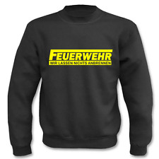 Pullover Feuerwehr, Sweatshirt