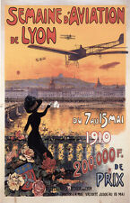Vintage French Flight Show Poster 1910