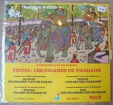 DECALCO WILLEB HERGE TINTIN CIGARES DU PHARAON 1978