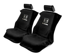 Pair (2) Black Seat Armour Cover Protectors for Dodge Ram Pickup Truck
