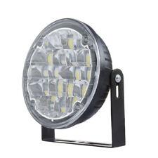 2pcs 12V Car 18LED Round Fog Light White DRL Lamp Daytime Driving Light for all`