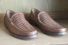 Tommy Bahama Fynn Loafer Saddle Brown Shoe Men Size 11.5  TFM00212