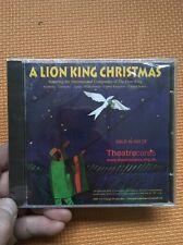 A Lion King Christmas CD New+Sealed International Company Cast Xmas Carols 2005