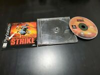 Soviet Strike (Sony PlayStation 1, 1996) COMPLETE! TESTED! FREE SHIPPING!