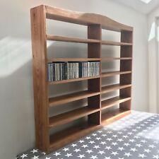 CD Storage (Ex Display Solid Wood) W 124 x H 102 x D 15cm (approx 650 capacity)
