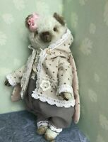 OOAK Artist teddy bear  6""