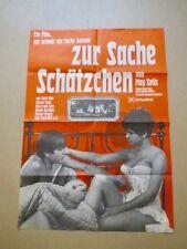 ZUR SACHE SCHÄTZCHEN - Filmplakat - Uschi Glas - May Spils - 83 x 59 cm