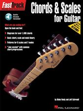 FastTrack Guitar Method Chords and Scales Music Instruction Book/Audio 000697291