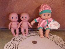 2 Berenguer Little Cutesie and 1 My Sweet Love baby dolls babies z3