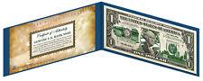 ALABAMA State $1 Bill *Genuine Legal Tender* U.S. One-Dollar Currency *Green*