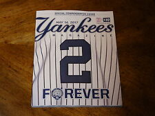 Derek Jeter Day New York Yankees Baseball Stadium Official Program 5/14/2017 NEW