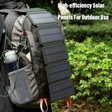 4 pieces Outdoor Emergency Survival Equipments Foldable Solar Charger Camping