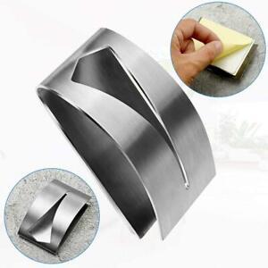 Tea Towel Holders - Set of 2pcs Self Adhesive Stainless Steel Towel Hooks UK NW