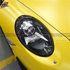 2013-16 Carrera 991 Carbon Fiber Headlight Eyebrow Body Kit 2PC 911 Fit Porsche
