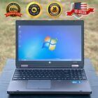 Hp Probook Laptop With Microsoft Office | Windows 7 Pro | Dvd | Wifi | Sd Card