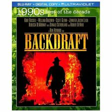Backdraft (Blu-ray Disc, 2013) Free Shipping!