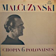++MALCUZYNSKI 6 polonaises CHOPIN LP ANGEL piano VG++