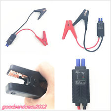 Car Smart LED 8AWG Emergency Lead Cable Battery Alligator Clamp For Jump Starter