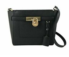 NWT Michael Kors Hamilton Traveler TZ  Messenger Handbag Black  MSRP $298