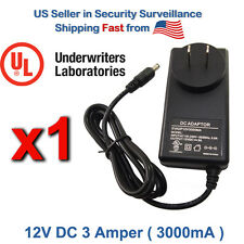 Ac Adapter Asian Power Devices 12V Dc Supply Cord Charger 3 Ampere Amp 3000 mA