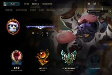 [NA] League of Legends account Diamond boarder, Unique name, All champ 225 skins