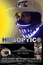 Light Up Mask JET Rave mask DJ Party LED Mask Dancer Wrench Cosplay Tron Costume
