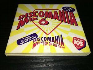 DISCOMANIA MIX 6 (2 CD) 1994 DIGITAL BOY CAPPELLA DA BLITZ ALADINO TONY DI BART