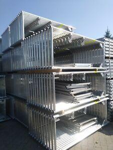 Scaffolding  / Stillads /  Skele T. Baumann Neu 61,68 qm Gerüst  Fassadengerüst