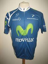 Movistar Spain jersey shirt cycling wielershirt camiseta trikot size XXXL