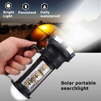 Solar Charge Camping COB LED Light Outdoor Portable Emergency Lantern Flashlight