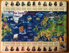 Irish/as Gaeilge Childrens Jigsaw Puzzle. Na Lochlannaigh/The Vikings. 102 Piece
