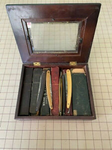 Antique Straight/Shaving Razors lot of 15