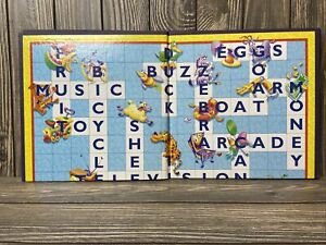 Hasbro Scrabble Junior Game Board Replacement Pieces 1999