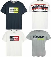 New Men's Tee Tommy Hilfiger Graphic T Shirt Top Muscle Regular Fit XS S M L XL