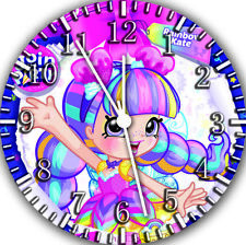 Shopkins Rainbow Kate Frameless Borderless Wall Clock Nice For Gifts E492