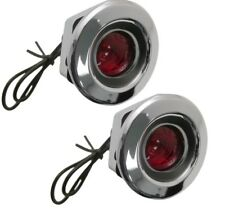68 Charger Coronet Dart Rear Side Marker Light Lamp Red Lens assembly - CURVED