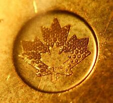 CANADA 1$ 2013 with a WEAK STRIKE on the maple leaf (reverse) -circulated