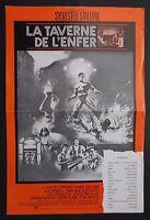 LA TAVERNE DE L'ENFER 1978 STALLONNE pressbook film cinéma poster affiche