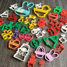 New listing Wilton 35+ Cookie Cutters Holiday Christmas Easter Valentine Plastic Excellent
