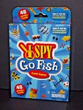 I spy Go Fish Card Game 00636 Briarpatch 48 Jumbo Cards New Ages 3+ (H)