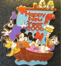 Disney LE 500 Pin Happy New Year 2006 Japan Big 7 Deities Donald + Xmas 2018 Map