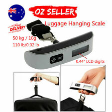 50kg/10g Portable LCD Digital Hanging Luggage Scale Travel Electronic Weight XRP